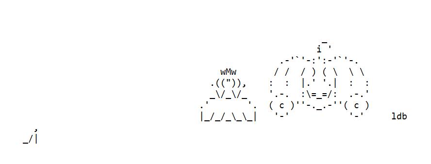 Cinderella ASCII Art