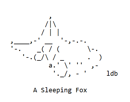 A Fox for my Niece