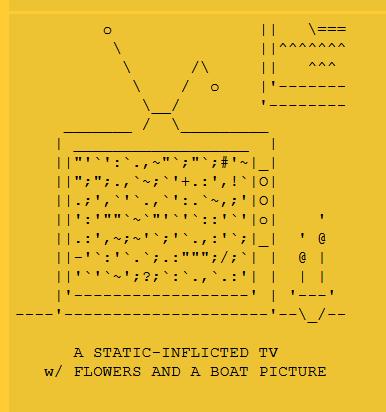 ASCII Art from Ethan Hayes-Chute