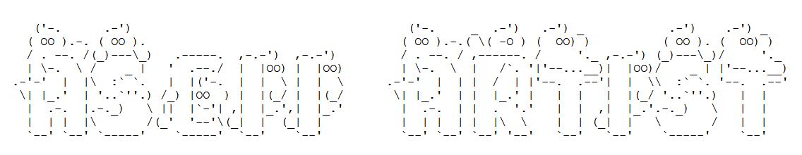 Ghostly ASCII Font