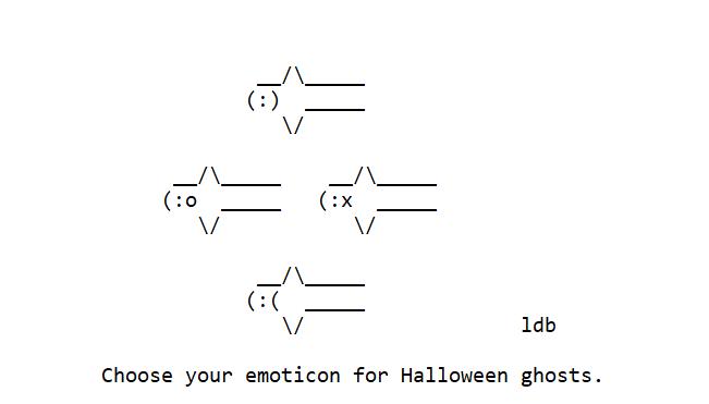 Emoticon Ghosts