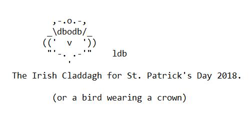 Merry St. Patrick's Day 2018