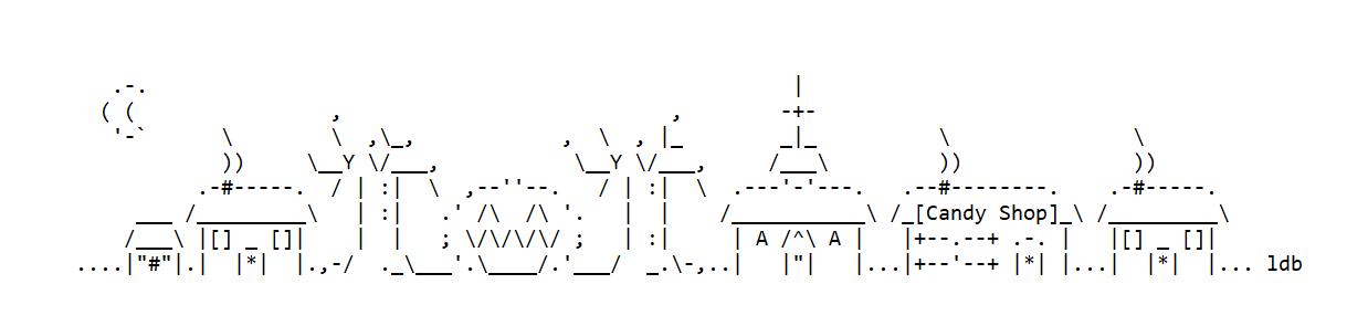 Happy Halloween ASCII Text Art