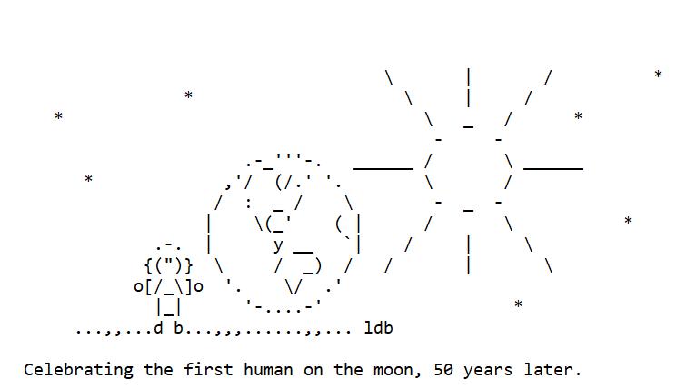Celebrating the Moon Landing