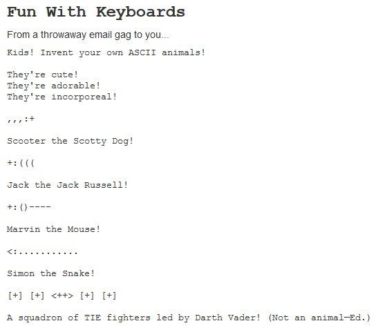 Fun With Keyboards