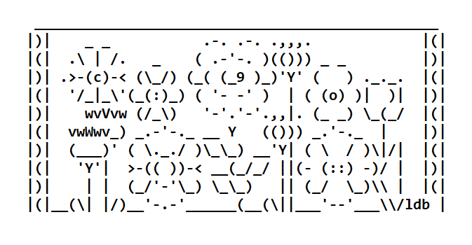 ASCII Art Flowers